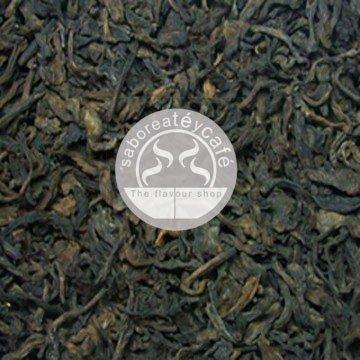SABOREATE Y CAFE THE FLAVOUR SHOP Té Rojo Pu Erh Yunnan China en Hebra Granel Ideal Para Dietas de Pérdida de Peso Infusión Natural adelgazante 1 Kilogramo