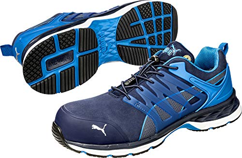 PUMA Safety Men's Velocity 2.0 Low SD Sneaker, Blue - 9.5 2E US