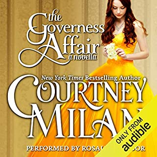 The Governess Affair audiobook cover art