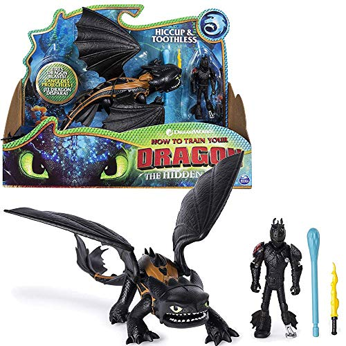 Dragons Drache Ohnezahn & Hicks | DreamWorks Action Spiel Set | Toothless