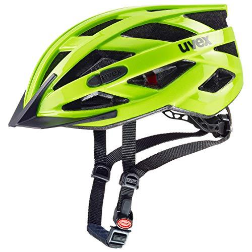Uvex Unisex– Erwachsene, i-vo 3D Fahrradhelm, neon yellow, 52-57 cm