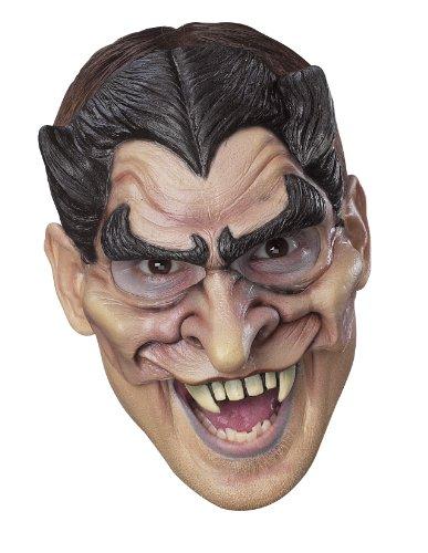 Cesar Dracula-Halbmaske Aus Vinyl