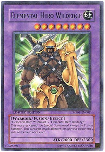 Yu-Gi-Oh! - Elemental Hero Wildedge - Softhard