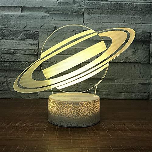 WYCY Lampada di Terra Telecomando 3D Earth Lamp 16 Colors Decorative Moon Light Stampa 3D Aggiornamento della Lampada della Luce lunare Luce di Terra 16 Colori, 3.1IN