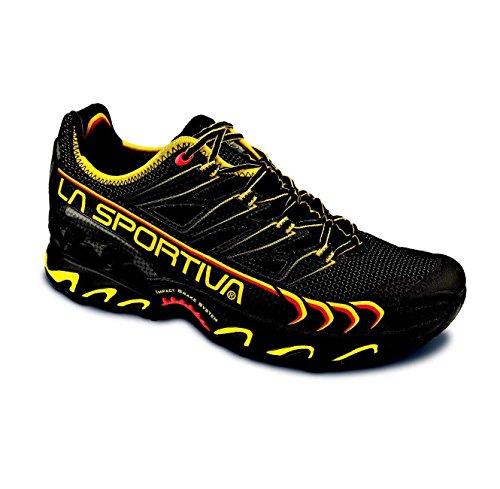 La Sportiva ,  Herren Sneakers, Negro / Amarillo, 45 EU