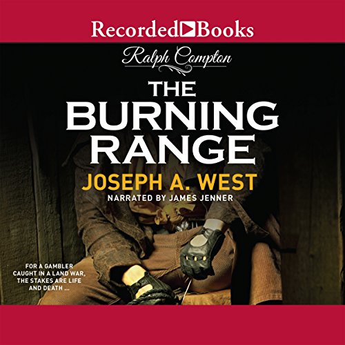 The Burning Range audiobook cover art