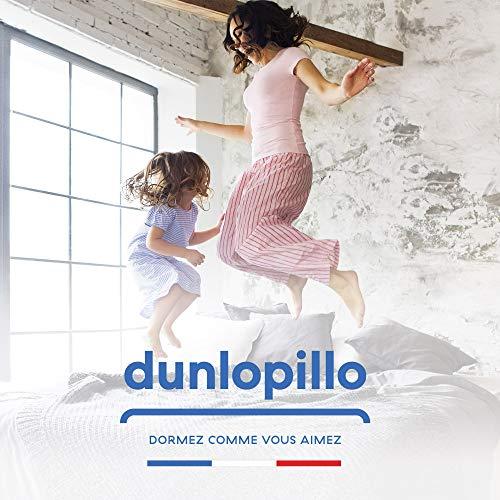 Dunlopillo, Matelas Achille, 90 x 200 cm, 21 cm d'épaisseur, 5 ans de garantie, Fabriqué en France