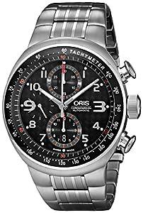 Oris Men's 674 7587 7264MB TT3 Titanium Automatic Watch with Link Bracelet