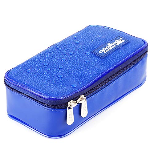 [Nieuwe versie] ONEGenug Waterdichte insuline koeler Case-Portable Diabetics Cool Bag insuline Pen Case voor Diabetes spuiten, insuline pen en drugs