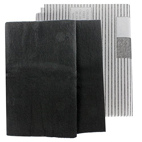 SPARES2GO Large Universal Cooker Hood Grease Filters for...
