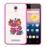 WoowCase Alcatel OneTouch Pixi First Hülle, Handyhülle