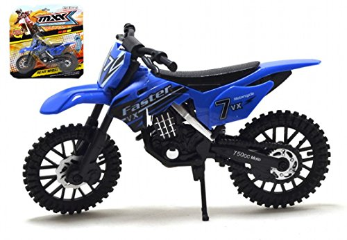 MXX Motocross Moto Modelo a Escala Moto de Juguete Moto MXS Moto de Juguete