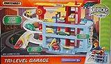 Matchbox Tri-Level Garage PlaySet w/ 1:64 Scale Die Cast Car