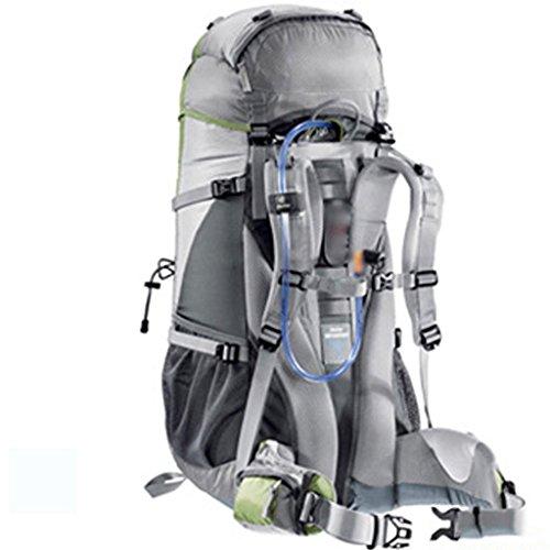 Sac de sport hommes et femmes de grande capacité alpinisme en plein air sacs 50L Backpack Voyage