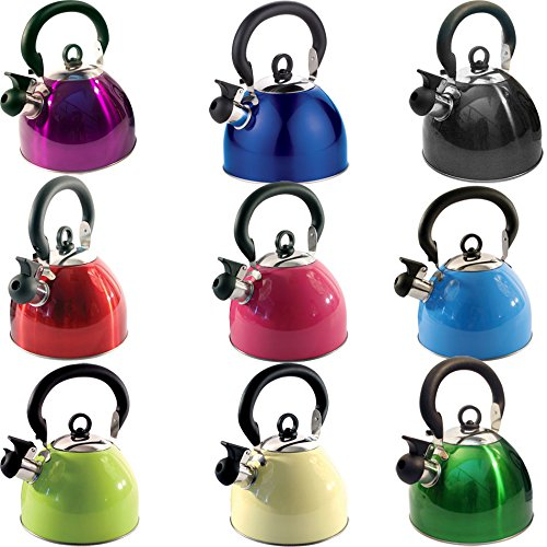 2.5L Stainless Steel Lightweight Whistling Kettle