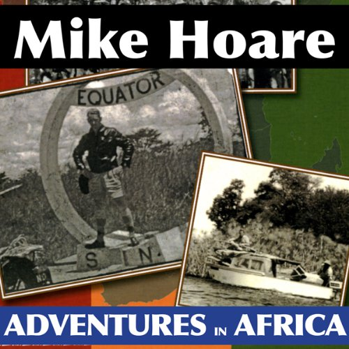 Mike Hoare's Adventures in Africa audiobook cover art