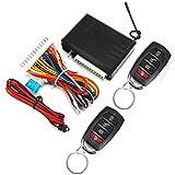DBSUFV Sistema de entrada sin llave del vehículo Kit central remoto universal de 12 V para automóvil Cerradura de puerta antirrobo con controles remotos