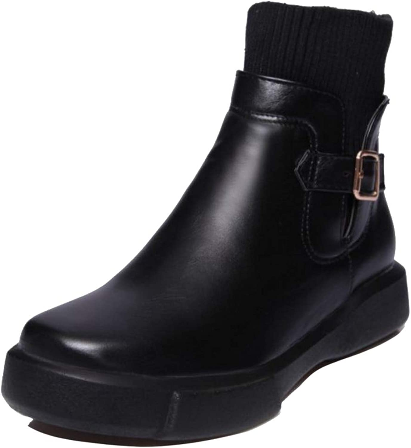 Onewus Women Casual Boots Sport Ankle Boots