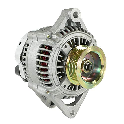 DB Electrical AND0126 New Alternator For 2.4L 3.0L 3.3L 3.8L 2.4 3.3 3.8 3.0 Plymouth Voyager, Chrysler Town & Country Van, Dodge Caravan 96 97 1996 1997 ND9712109-416 113235 4686099 4727221 ALT-6100 Country Plymouth Voyager Vans