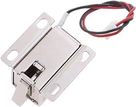Blesiya 12V 0.6A Mini Elektrische Magnetische Deur Toegangscontrole Kast Kast - neerwaartse bout
