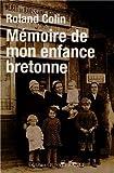 Mémoire de mon enfance bretonne