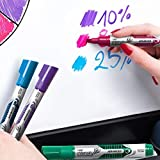 BIC Magic Dry Erase Marker, Tank Style, Chisel Tip, Assorted Colors, 24-Count (packaging may vary)