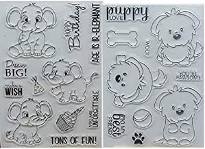 Welcome to Joyful Home 1pc Alphabet Background Clear Stamp for Card Making Decoration and Scrapbooking