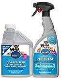 Envii Pet Fresh – Deodorante e Smacchiatore Per Animali, Rimuove Gli Odori e Neutralizza Gli Enzimi, Per Qualunque Incidente Causato Dagli Animali – (Concentrato da 500ml e 750ml Bottiglia Spray)