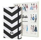 Moleskine LEBRQP060CLT - Cuaderno de edición limitada Barbie, grande, a rayas para coleccionistas (EDITION LIMITEE)