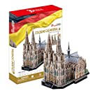 3D three-dimensional puzzle Cologne Cathedral MC160h (japan import)