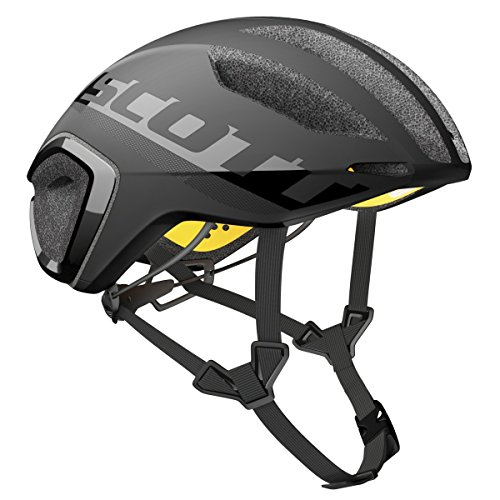 Scott Cadence Plus - Casco Unisex (Talla S), Color Negro