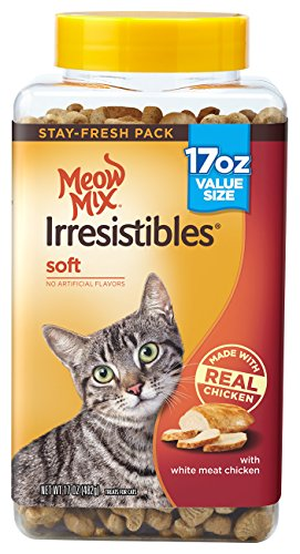 Meow Mix Irresistibles, Soft White Meat Chicken
