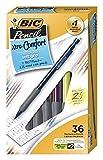 BIC Xtra-Comfort Mechanical Pencil, Medium Point (0.7mm), 36 Count