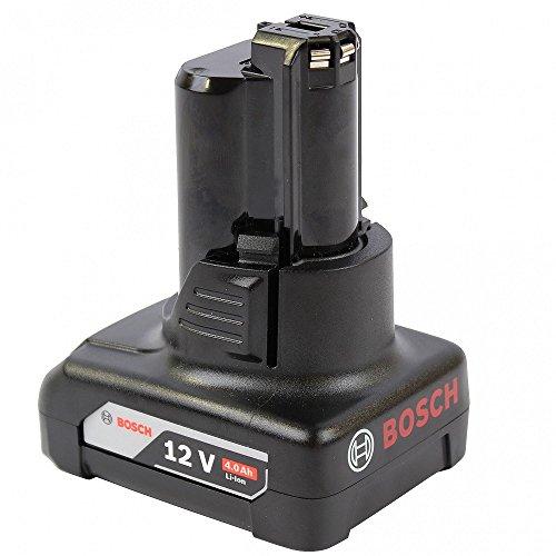 Bosch Professional 12 V Akku (GBA 4,0 Ah, kompatibel mit 10, 8V und 12V) 1600Z0002Y