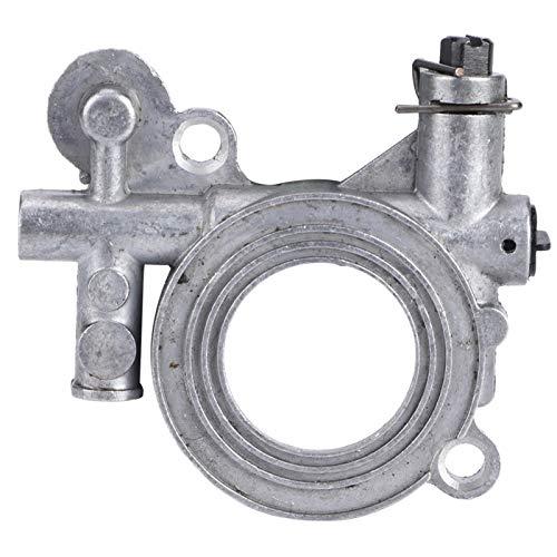 Kadimendium Piezas de Motosierra, Engranaje helicoidal de Bomba de Aceite de fabricación Profesional fáciles de reemplazar para Husqvarna 362/371/365 / 372XP