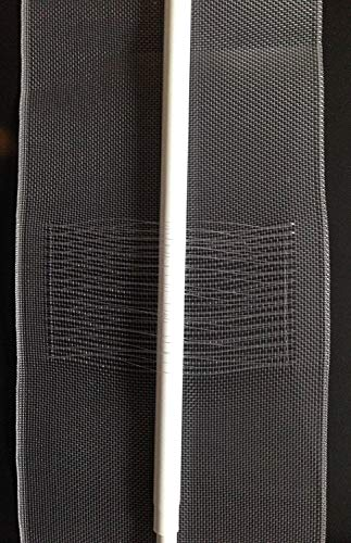 5 m Schlaufenband für Vorhänge (flottierend 50 oder 100 mm Breite) (50 mm)