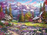Buffalo Games - Chuck Pinson Escapes - Inspirations of Spring - 1000 Piece Jigsaw Puzzle
