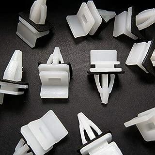 FidgetGear 10pcs for Honda Plastic Side Sill, Skirt Upper Mounting Trim Clip 91513-SM4-000