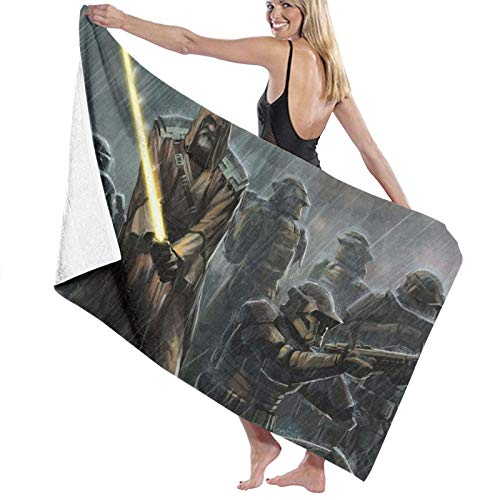 Star Wars Toalla de baño portátil ligera toalla de playa toalla de viaje deporte toalla súper absorbente ultra compacta toalla de baño