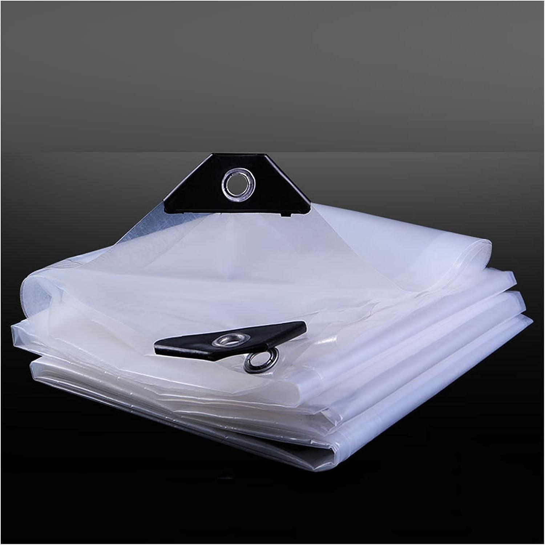 AWSAD Memphis Mall shop Transparent Tarpaulin PVC Weatherproof Clear Plastic Tarp
