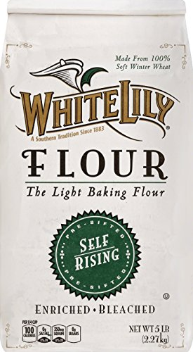 White Lily Enriched Bleached Self Rising Flour, 80 oz