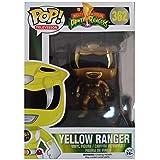 Topstars Funko Power Rangers #362 Yellow Ranger (Golden Metalic) Limited Edition Pop! Multicolor