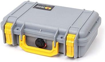 Pelican Silver & Yellow Pelican 1170 case with Foam.