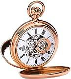 Royal London Men's Stainless Steel Mechanical Pocket Watch 90048-03