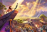 BOXSBAI Rey león Simba 300/5001000/1500 Piezas del Rompecabezas Creativo Difícil Gran Rompecabezas Educativo estrés Alivio de Juguete for Adultos niños Descompresión Anime de Dibujos Animados
