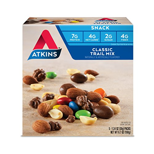 Atkins Snack, Classic Trail Mix, 5 Count