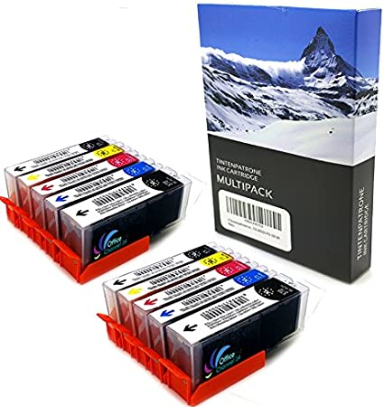 10 Compatible Printer Ink Cartridges With Chip Compatible With 571 C 100 Money Back Guarantee By Printer Ink Cartridges For 570bk And 571 M 100 Money Back Guarantee