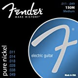 Fender 150M Pure Nickel Electric Electric Guitar Strings - Medium