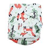 Bebé Pañales de natación Lavable Bañador ajustable Pañal Pañal Ropa interior Suave Transpirable Impermeable Unisex Pantalones de piscina para niños(BL002)