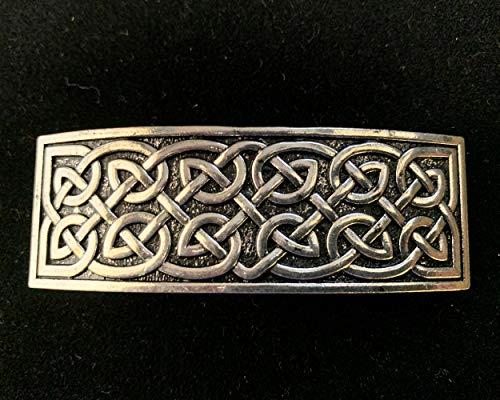 Celtic Knot Bar Hair Barette